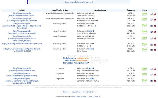 Linktausch und Backlinks prüfen für Webmaster - auch mit Cronjob automatisiert